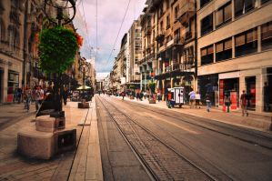 Street of Geneva by samsibamsi