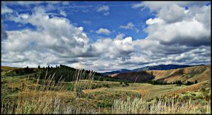 Rolling Hills Rolling Clouds 3 by melly4260