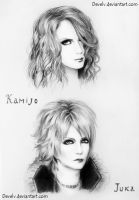 Kamijo and Juka by Develv