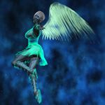 Angel of Metal and Light by flashback37