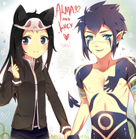 .+Alma_and_Lucy+. by hyuugalanna