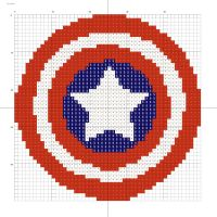 Captain America logo by Stinnen