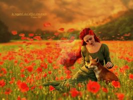 Red Dream by Le-Regard-des-Elfes