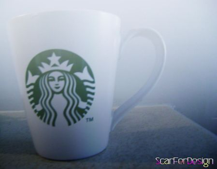 Starbucks Cup by scarferdesign