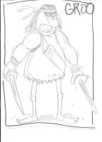 Groo 10 Minute Sketch by MonkeySquadOne
