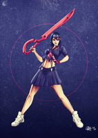 Ryuko Matoi - Kill la Kill (+Video) by Professor-Irony