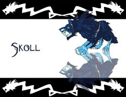 Skoll Wallpaper by MelissasFanArt