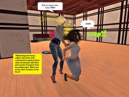 Molly and Gina in Second Life 4 by MollyFootman