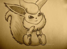 :Flareon: by Noortjegiggle