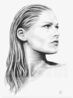 Ursula Andress portrait by whu-wei