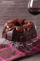 Chocolate red wine cake by kupenska