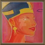 ancient Egyptian portrait ... in oil by werner664