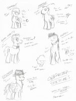 Character Sketches by Th3iPoDM0N