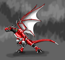 Commission-Ultima Gamma by Scatha-the-Worm