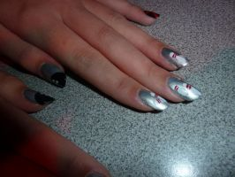 Bowling nails by SarahJacky