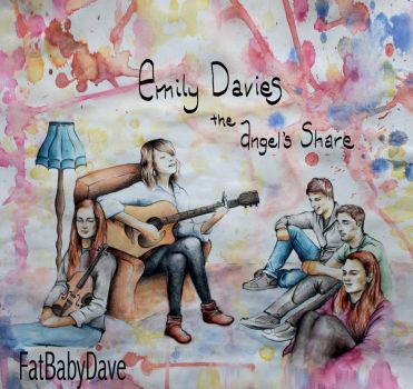 Emily Davies - The Angel's Share - EP Cover by FatBabyDave