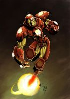 Iron Man by soulrailer