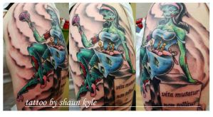 zombie upper sleeve by Shaun-Kyle