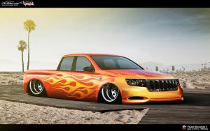 Grand Cherokee SRT8 lowrider by DURCI02