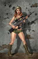 army girl by sanjun