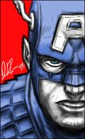 The SuperSoldier: paint sketch by dio-03