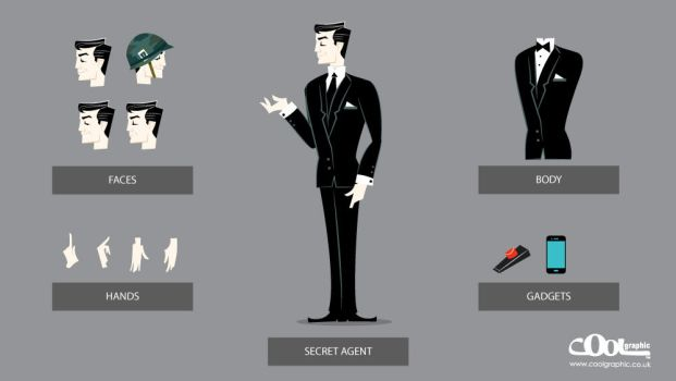 Secret-agent by Coolgraphic