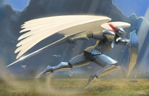 Art Jam Knight by edsfox