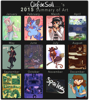 Summary of 2015 by ClefdeSoll