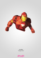 Iron Man - Polygon Pixel by lickmystyle
