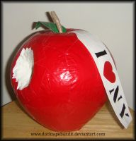 Duct Tape Big Apple by DuckTapeBandit