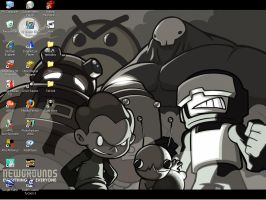 Newgrounds desktop by elite02