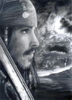 Captain Jack Sparrow by LadyLovan