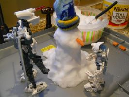 Making a snowman pic1 by ToaDJacara