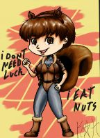 colored nuts D: by kokoro-hero