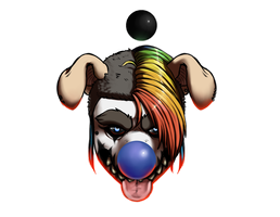Nightmare Clown by dragon-shark