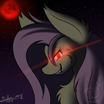 blood moon flutterbat by Silverfox057