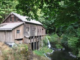 The Cedar Creek Grist Mill 2 by DanikaMilles