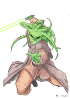 Kit Fisto by bearsarttank