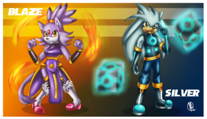 .: Blaze and Silver saviors of future:. by Rubisha