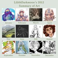 2012 Year in Review by lilith-darkmoon