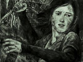 The Last of Us drawing- Endure and Survive by zakValkyrie