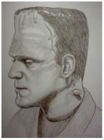 +++FRANKENSTEIN+++Sketch by mikegee777