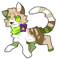 Tabby Sticker by Pand-ASS