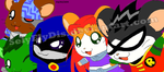 Hamsters Titans by SelyElyDis