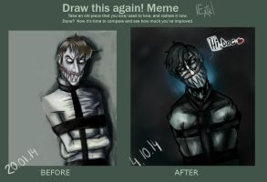Meme Before And After [OC] Jazz. by Dekst0