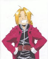 Edward Elric by Kaitalise