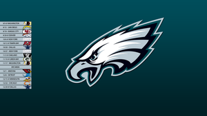 Philadelphia Eagles 2013 Schedule Wallpaper by SevenwithaT