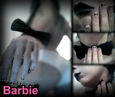 Bow Tie Nails by BarbieNailArt