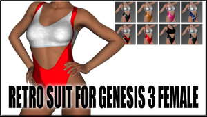 Retro Suit for Genesis 3 Female by sedartonfokcaj