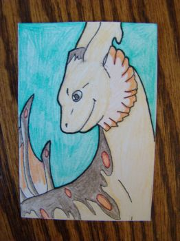ACEO Dralion by WolfSongLuna